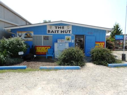 the bait hut